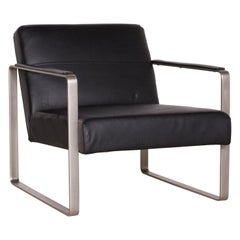 BoConcept Designer Leather Armchair Black