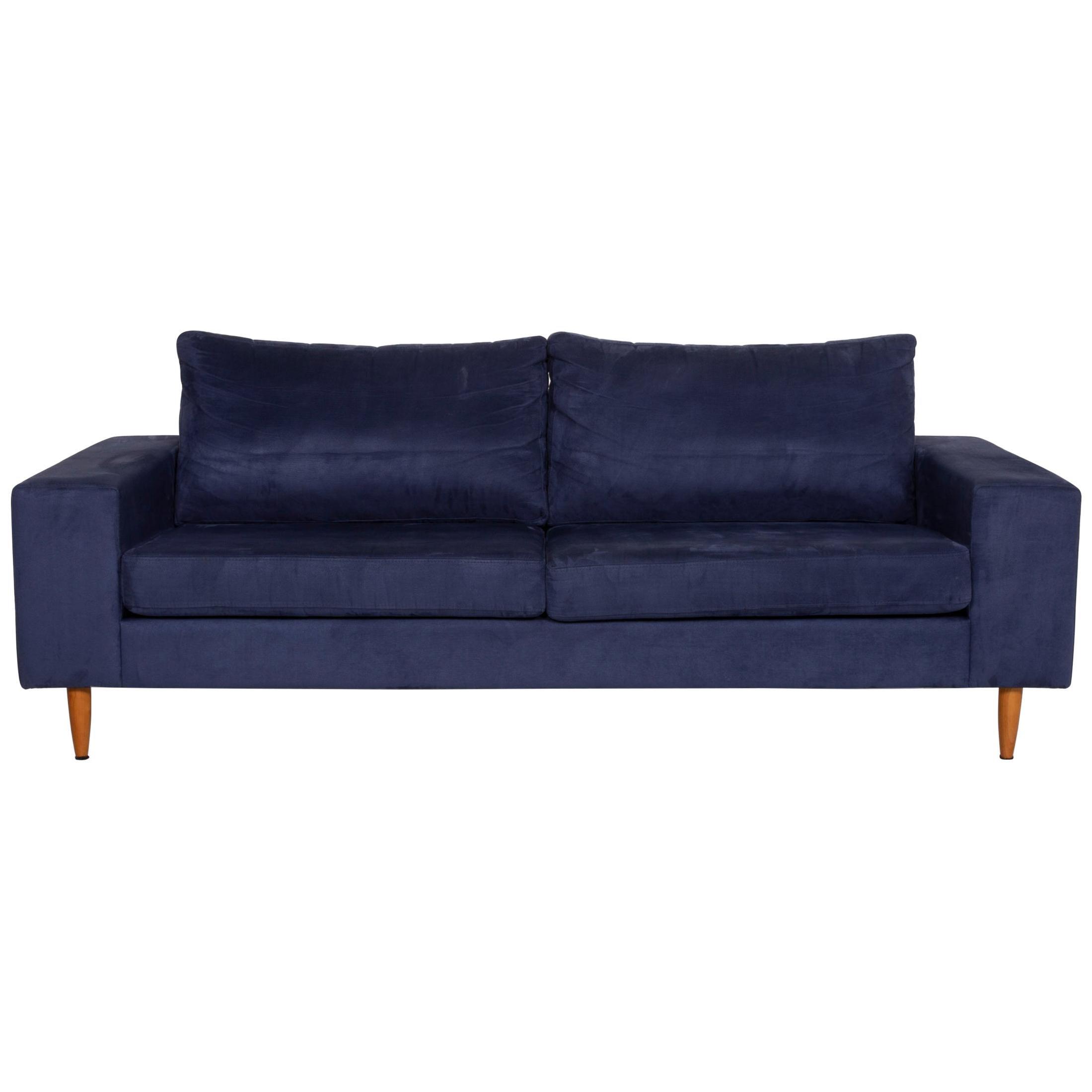 BoConcept Indivi 2 Fabric Sofa Blue Three-Seater