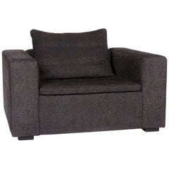 BoConcept Mezzo Fabric Armchair Anthracite Black Gray