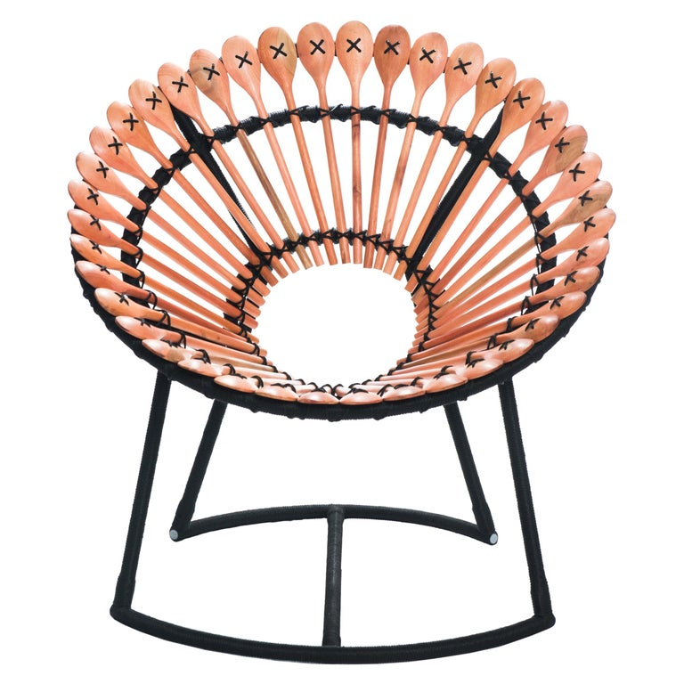 """Bodocongó"" Lounge Chair - Available in NY For Sale"