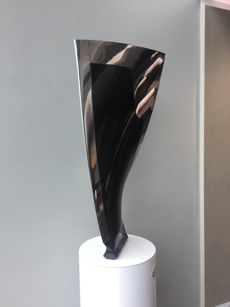 Contemporary Boeing 777-200 Fan Blade Sculpture For Sale