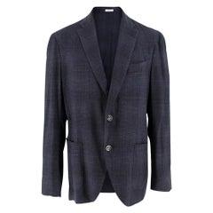 Boglioli Wool Blend Men's Single Breasted Jacket - Size IT 50