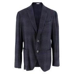 Boglioli Wool Blend Men's Single Breasted Jacket - Size Large - IT 50