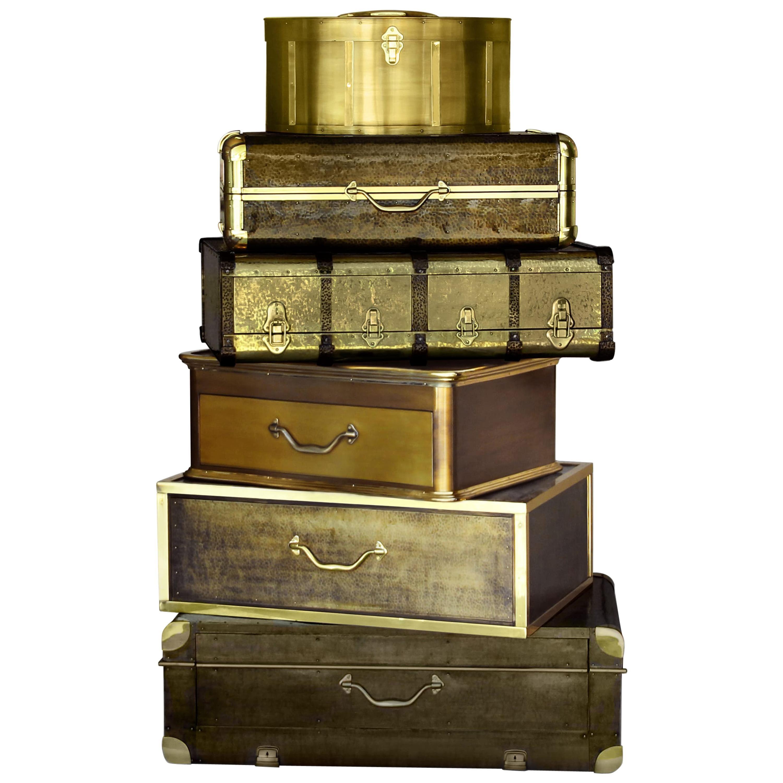 Bohémê Luxury Safe and Chest in Brass