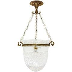 Bohemian Crystal Bell Jar Lantern