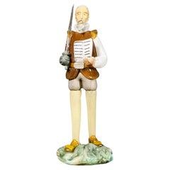 Bohemian Crystal Don Quixote, Flom 50's 20th Century
