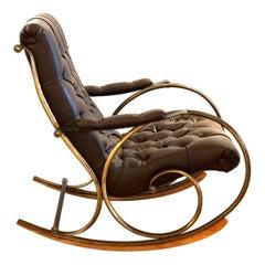Bohemian Midcentury Rocking Chair by Lee Woodard