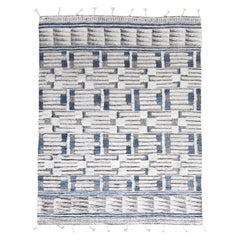 Modern and Trendy Boho Chic Rug from India. Size: 8 ft 11 in x 12 ft