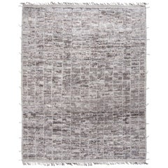 Modern & Trendy Boho Chic Rug from Central Asia. Size: 10 ft 4 in x 13 ft 8 in