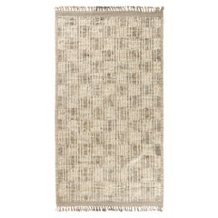 Modern and Trendy Boho Chic Rug from Central Asia. Size: 6 ft 6 in x 11 ft 9 in