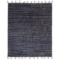 Modern and Trendy Boho Chic Rug from India. Size: 8 ft 1 in x 10 ft 2 in