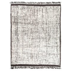 Modern and Trendy Boho Chic Rug from Central Asia. Size: 8 ft 7 in x 10 ft 5 in