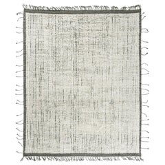 Modern and Trendy Boho Chic Rug from Central Asia.