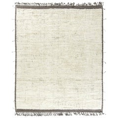 Modern and Trendy Boho Chic Rug from Central Asia. Size: 9 ft 7 in x 11 ft 11 in