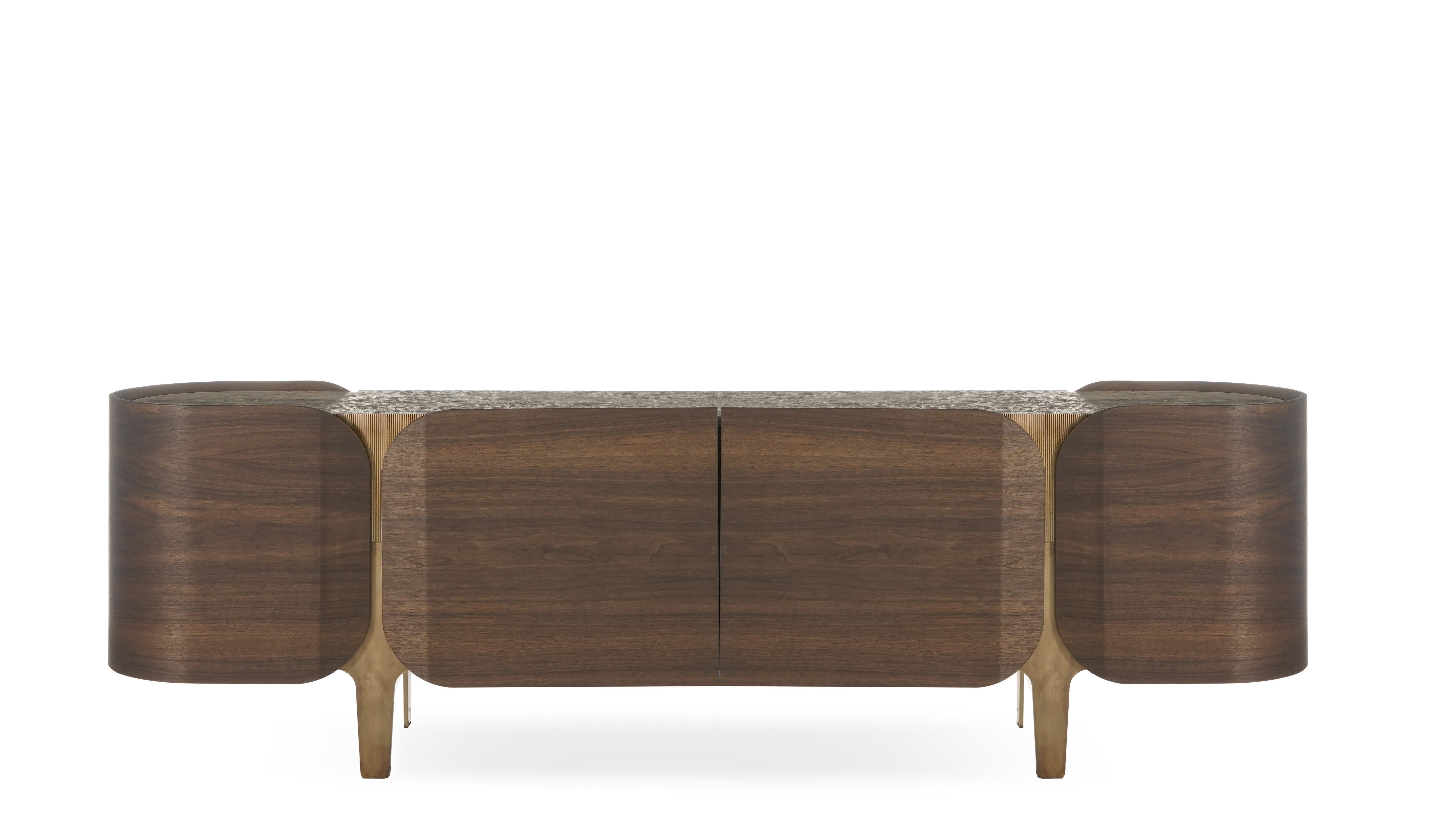 Credenza Contemporary : Carl hansen ch credenza sideboard designer contemporary furniture