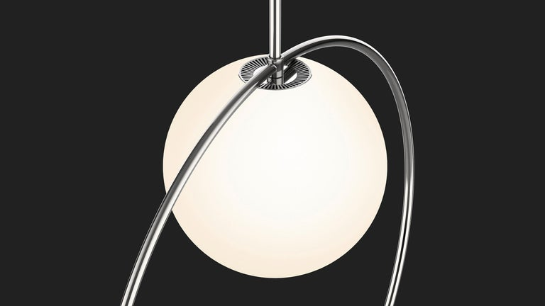 American Bola Halo Pendant Light by Pablo Designs For Sale