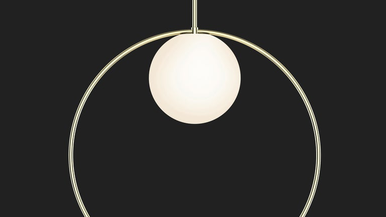 Bola Halo Pendant Light by Pablo Designs In New Condition For Sale In San Francisco, CA