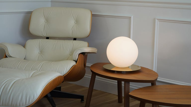 American Bola Medium Table Sphere Lamp by Pablo Designs For Sale