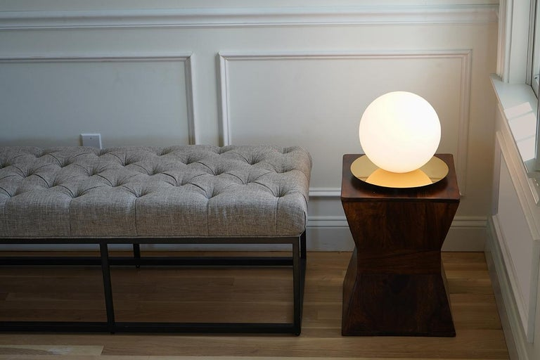 Bola Medium Table Sphere Lamp by Pablo Designs In New Condition For Sale In San Francisco, CA