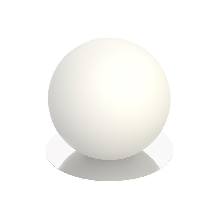For Sale: Silver (Chrome) Bola Medium Table Sphere Lamp by Pablo Designs