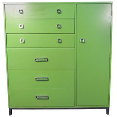 Bold 80's Tall Designer Dresser