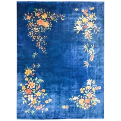 Bold Early 20th Century Chinese Art Deco Rug