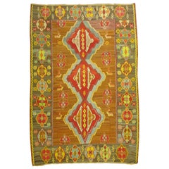 Bold Geometric Turkish Kilim