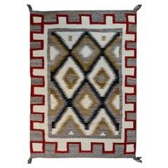 Bold Mid-20th Century Navajo Rug