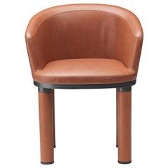 Bold Orange Armchair