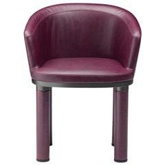 Bold Purple Armchair