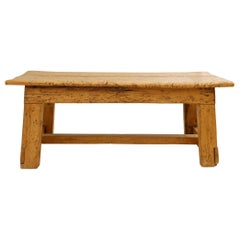 Bold Rustic Bench or Low Table