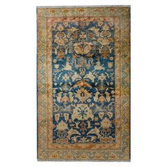 Bold Vintage Turkish Rug
