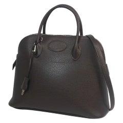 Boledo37  Womens  handbag  dark brown Leather