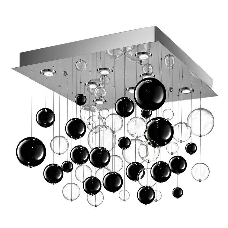 Bolero black chandelier.