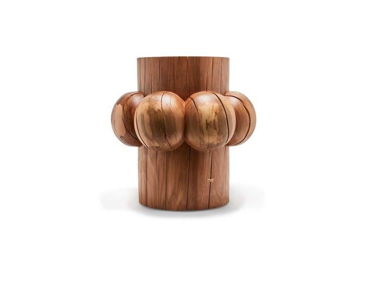 American Bollard Table by Wyatt Speight Rhue For Sale