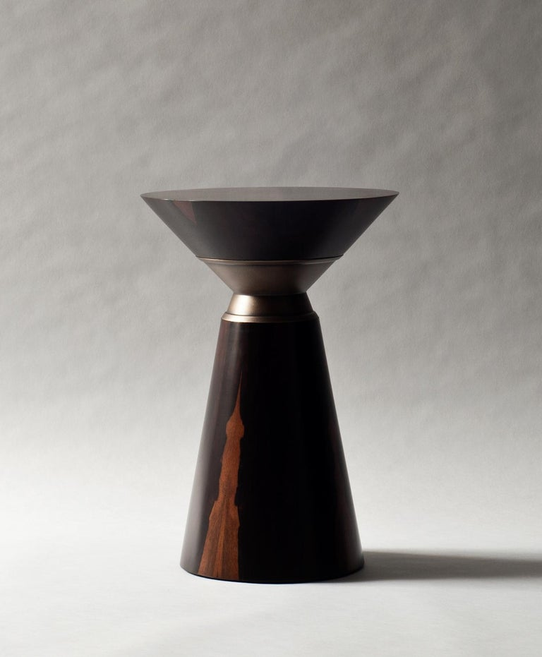 Modern Bolo Side Table by DeMuro Das For Sale