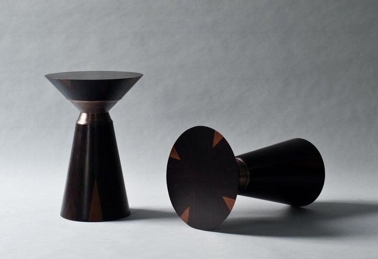 American Bolo Side Table by DeMuro Das For Sale