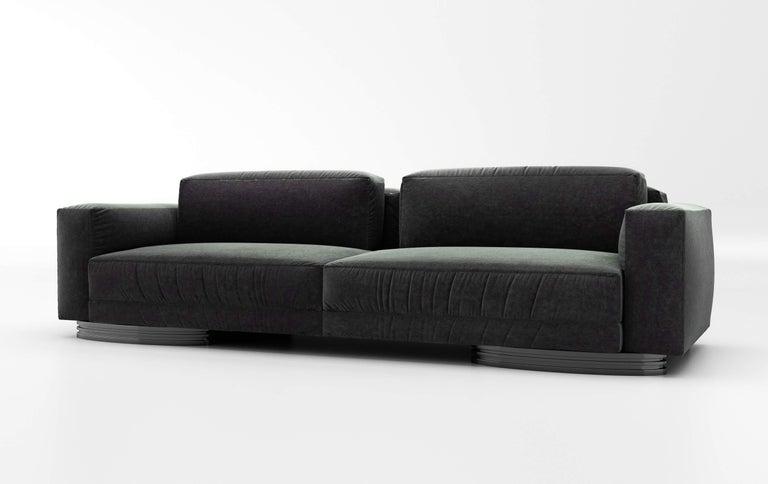 Modern Bolsa Sofa by Ortiz Milano For Sale