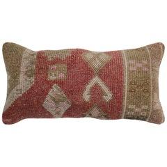 Bolster Tribal Turkish Rug Pillow