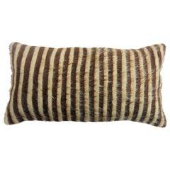 Bolster Turkish Mohair Rug Pillow