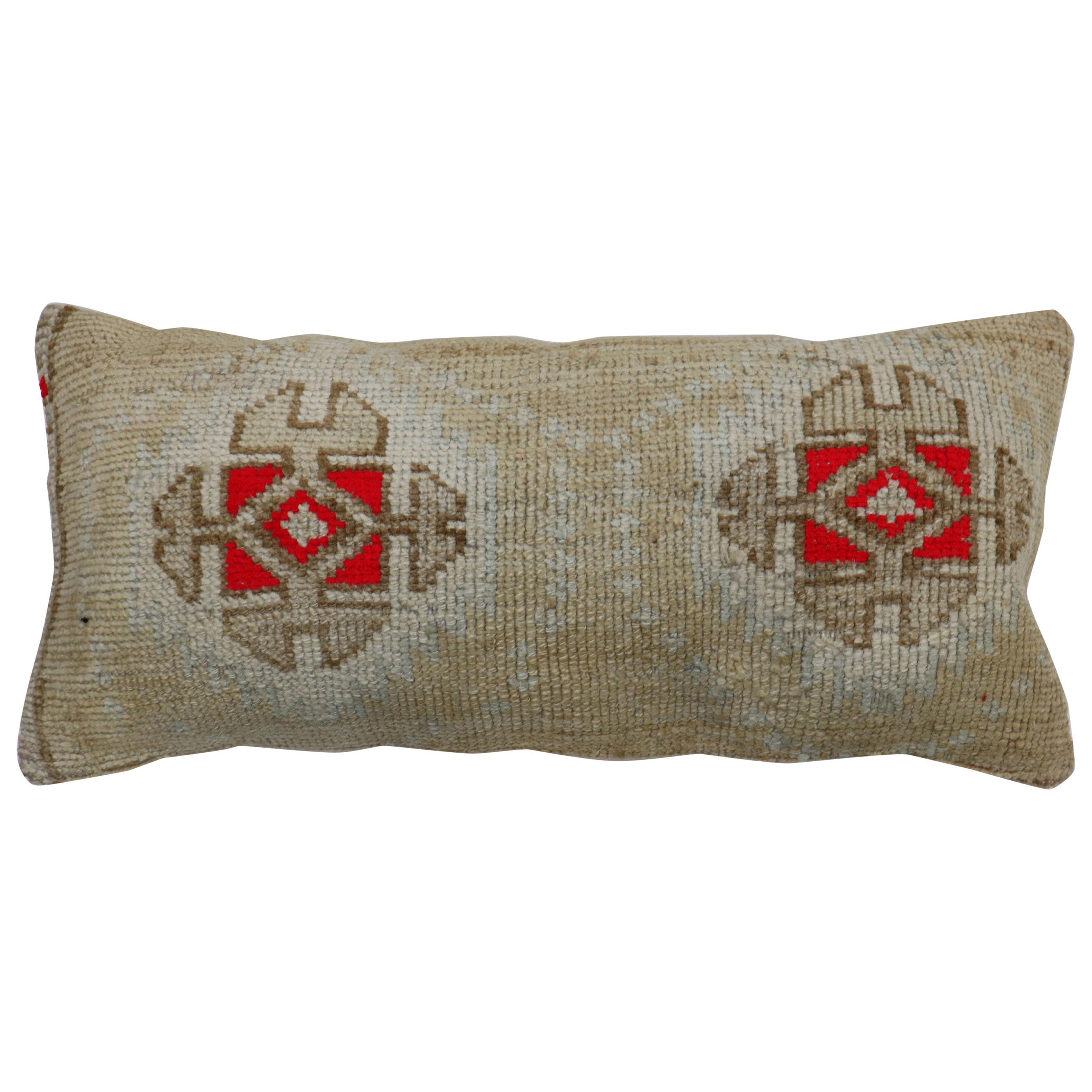 Bolster Turkish Rug Pillow
