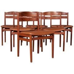 Boltinge Møbelfabrik, Set of Six Chairs