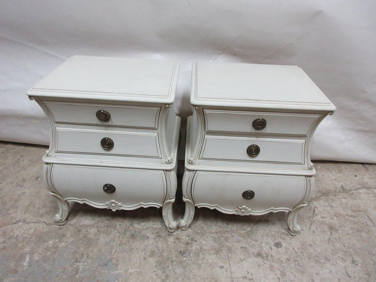 Country Bombay Nightstands For Sale