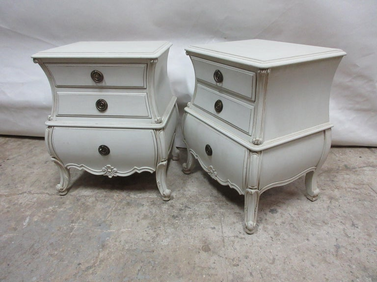 Swedish Bombay Nightstands For Sale