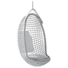 Bonacina 1889 Eureka Indoor Hanging Chair Rattan, Giovanni Travasa, 1958