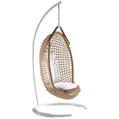 Bonacina 1889 Stand for Eureka Rattan Indoor Hanging Chair, Giovanni Travasa