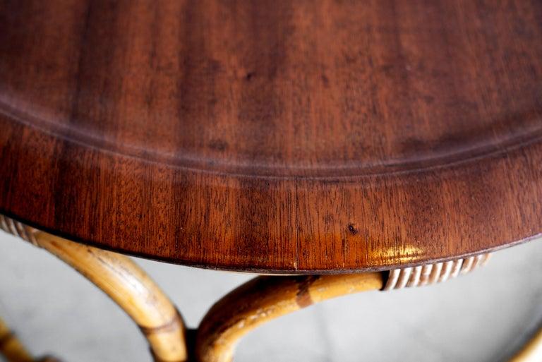 Vintage Bonacina Coffee Table In Good Condition For Sale In Los Angeles, CA