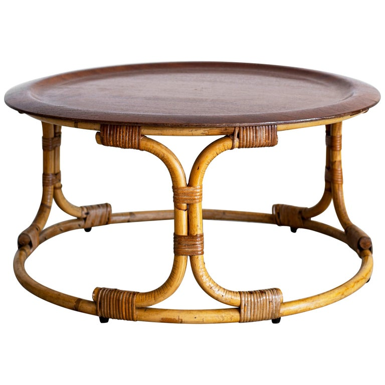 Vintage Bonacina Coffee Table For Sale