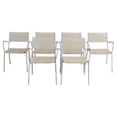 Bonacina Miss B Classic Dining Chair by Tito Agnoli Set of 6