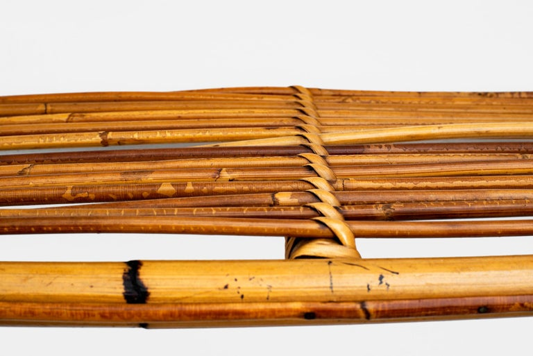 Bonacina Rattan Shelf For Sale 3